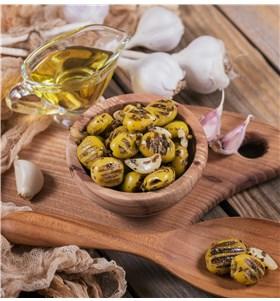Grilled Olives