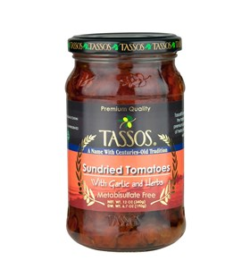 Sundried Tomatoes, Metabisulfate Free