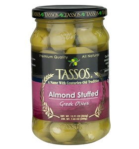 Almond Stuffed Greek Olives