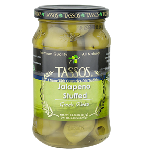 Jalapeno Stuffed Greek Olives