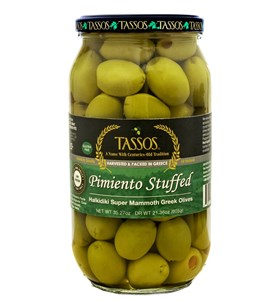 Pimiento Stuffed Super Mammoth Olives