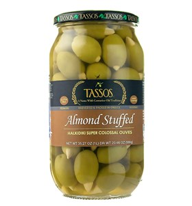 Almond Stuffed Super Colossal Olives