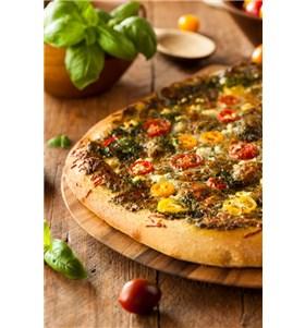 Quick and Easy Kalamata Pita Pizza