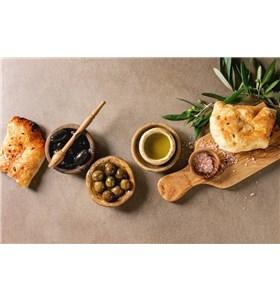 Mediterranean Asiago Bread