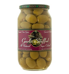 Garlic Stuffed Super Colossal Olives